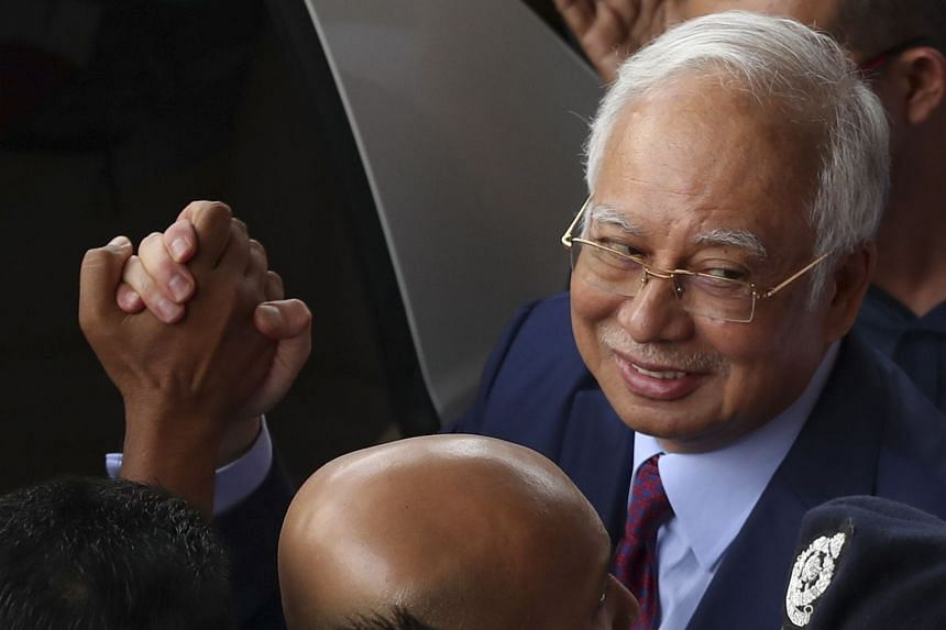 Former premier Najib Razak has pleaded not guilty to corruption, and is disqualified from office if he is sentenced to jail.