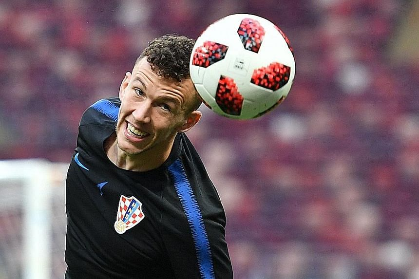 Ivan Perisic will be one of Croatia's main goal threats from the wing against France.