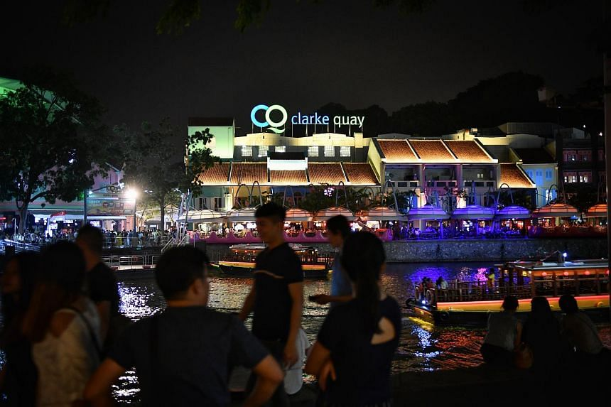 The number of public order offences in the Clarke Quay area, which includes disorderly behaviour, rioting and voluntarily causing hurt, fell after liquor licensing hours were curtailed.