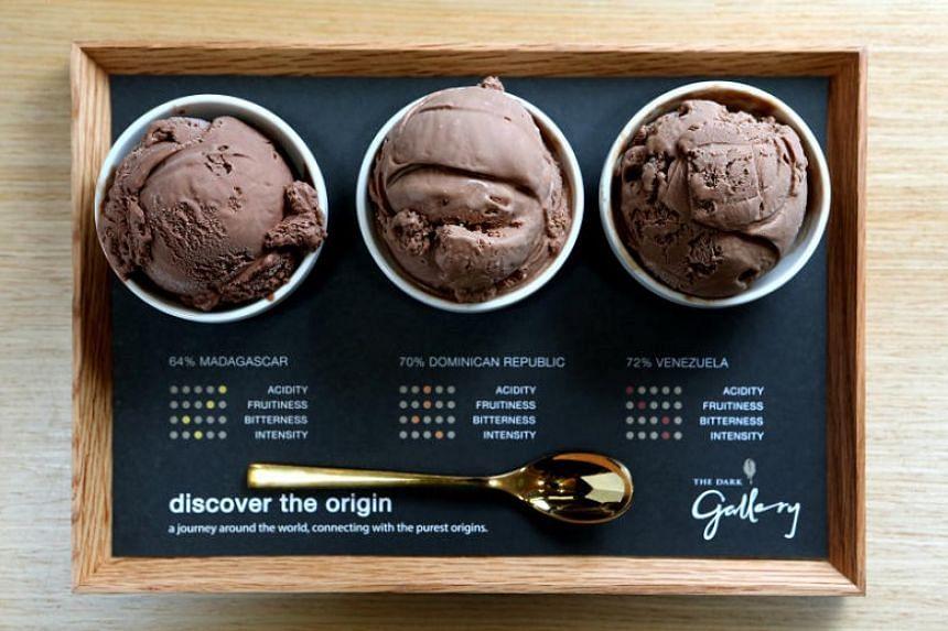 Ice cream from The Dark Gallery.