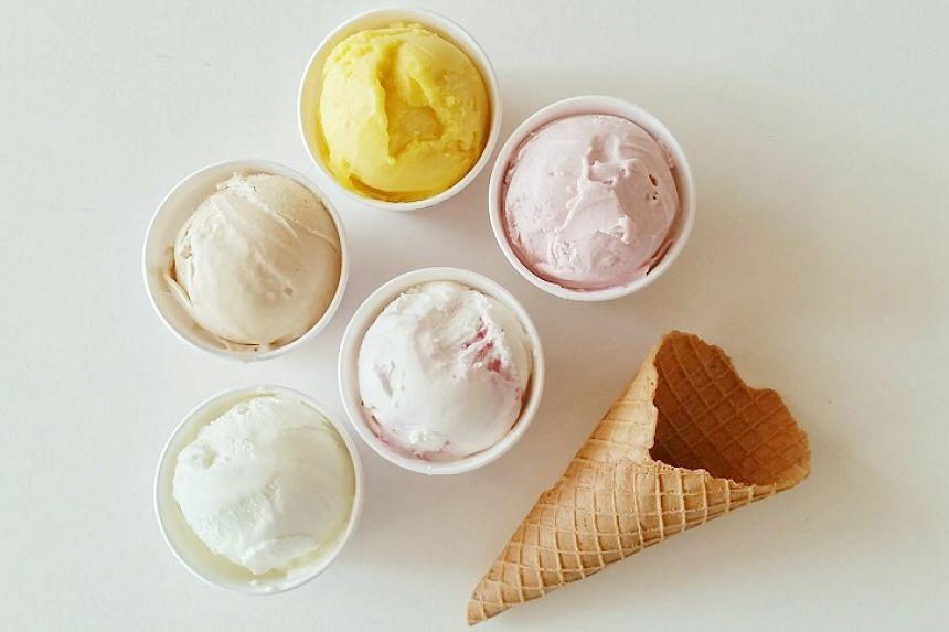 Handmade gelato from Birds of Paradise.
