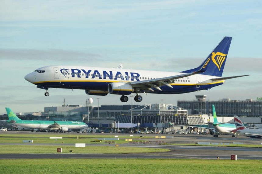 The Ryanair flight descended from 37,000 to 10,000 feet over a seven-minute period 80 minutes into the flight.