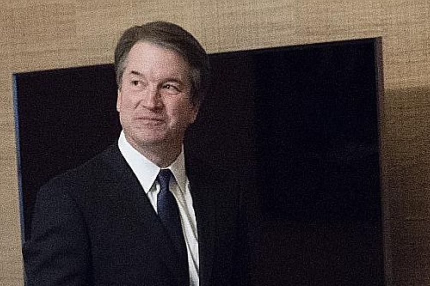 Mr Brett Kavanaugh is a product of Washington's most prestigious addresses, including the White House, where he was deputy counsel to President George W. Bush.