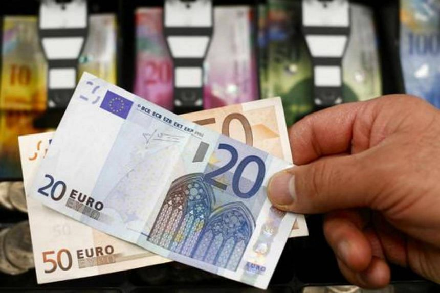 File photo showing euro banknotes. While Norway, Sweden and Denmark all have their own currencies, Finland uses the euro.