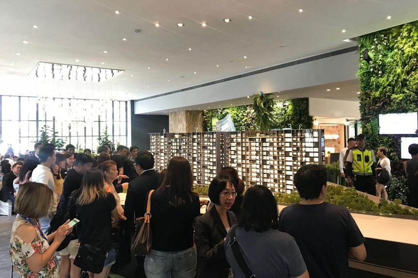 Keppel Land and Wing Tai Holdings sold 64 units at The Garden Residences in June.