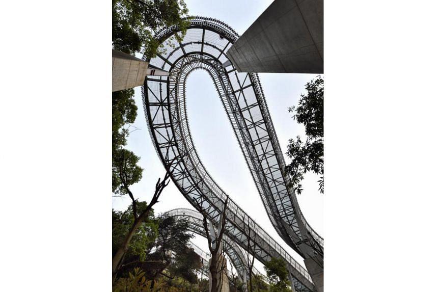 China Fuzhou Jin Niu Shan Trans-urban Connector (Fudao) by LOOK Architects was among this year's winning designs.
