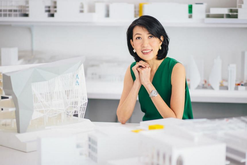 DP Architects' chief executive Angelene Chan was among the two Designers of the Year awardees this year.