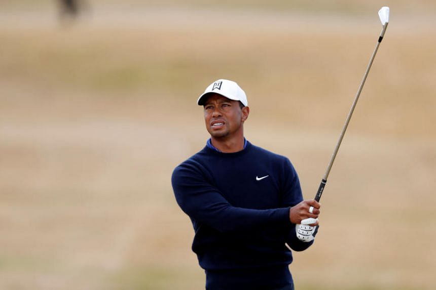 Tiger Woods said links golf suited classy ageing golfers well.