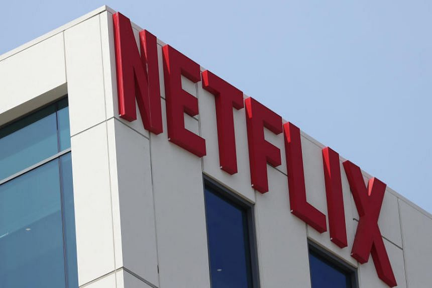 The Netflix logo is seen on their office in Hollywood, Los Angeles, California, US, on July 16, 2018.