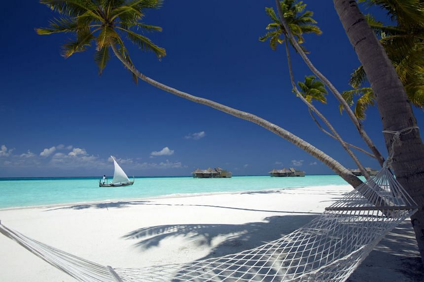 File photo showing luxury villas at the Maldives, which is best known for its idyllic white sand beaches and clear waters.
