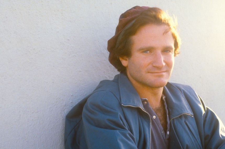 A cinema still from the documentary Robin Williams: Come Inside My Mind.