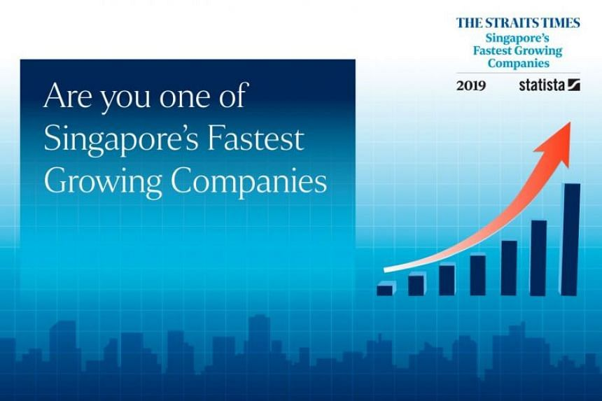 """""""Singapore's Fastest Growing Companies"""" is conducted jointly with Statista."""