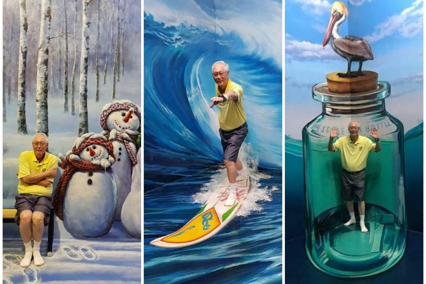 Emeritus Senior Minister Goh Chok Tong posted the photos on his Facebook page MParader in two separate posts on July 16 and 17, 2018, which were taken while he was on holiday in Langkawi.