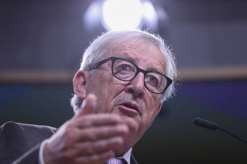European Commission President Jean-Claude Juncker (above) and US President Donald Trump will focus on improving transatlantic trade and forging a stronger economic partnership during their meeting.