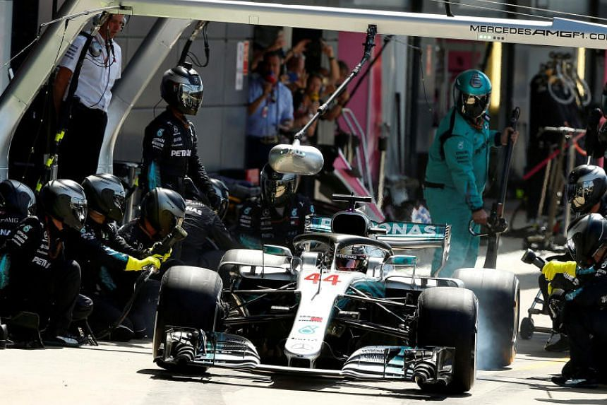 Lewis Hamilton of Mercedes heads to Hockenheim for the German Grand Prix with an eight-point gap to make up on Ferrari's Sebastian Vettel.