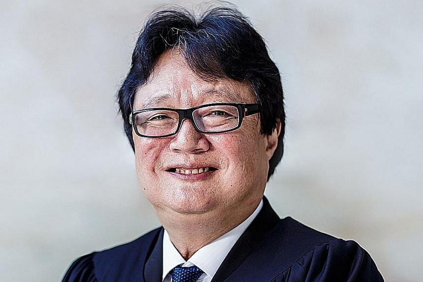 Justice George Wei, 63, will resign from the Bench on Aug 1. He was appointed a judge in 2015.