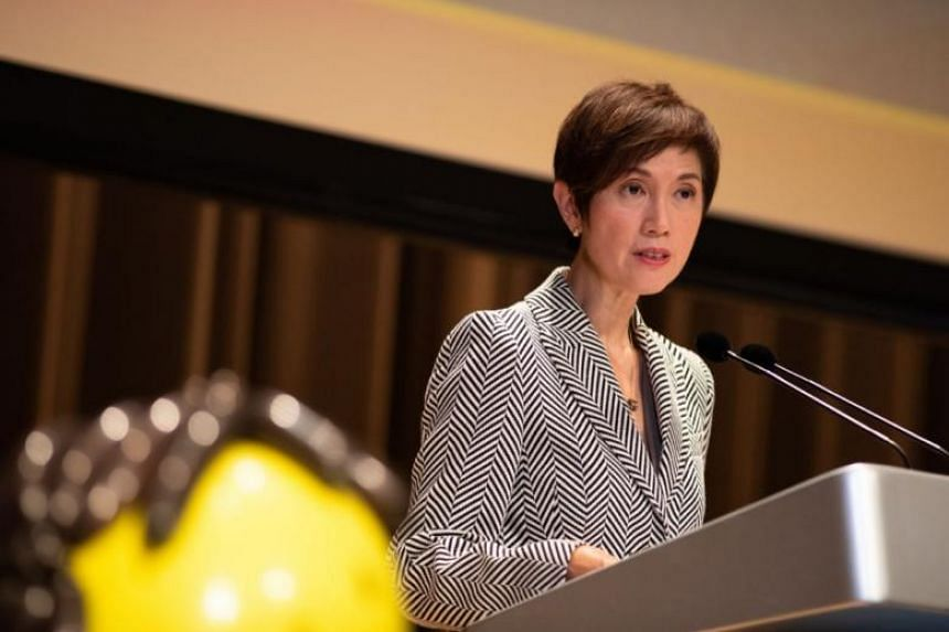 Second Minister for Home Affairs Josephine Teo said buyers of security services will need to adapt to the manpower crunch in the industry by adopting outcome-based solutions instead of manpower-based ones.