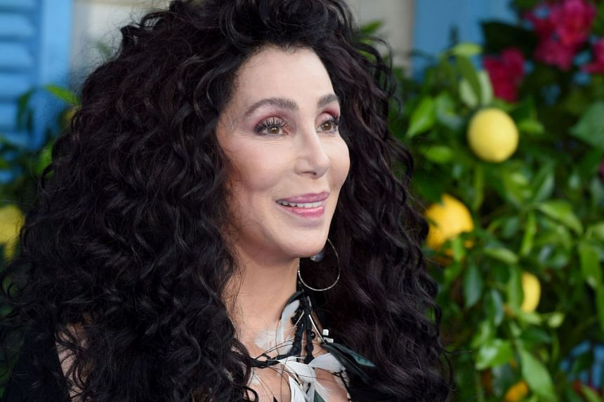 Cher arrives for the world premiere of Mamma Mia! Here We Go Again, in London.