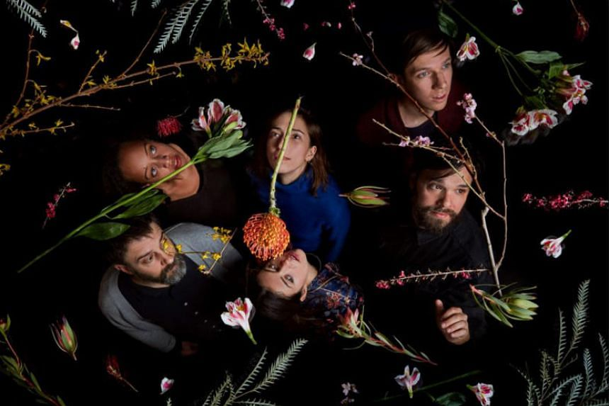 Dirty Projectors is an American indie rock band from Brooklyn, New York, fronted by David Longstreth (far right).
