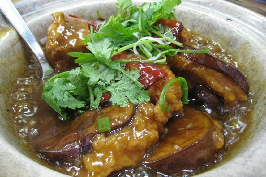 Claypot yong tau foo from Kok Sen Restaurant.