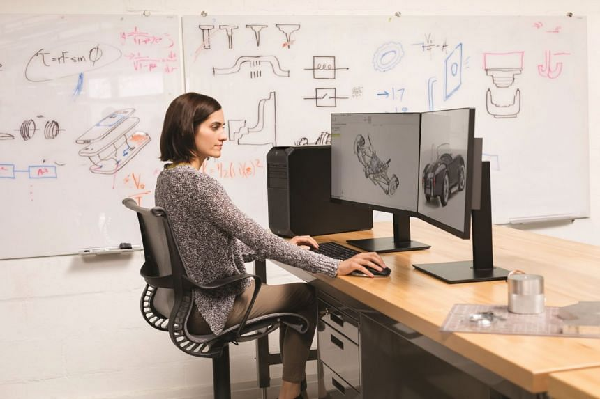 The HP Z2 Tower G4 Workstation is built to tackle complex and demanding workloads with up to 60 per cent more graphics power than the previous generation. PHOTO: HP