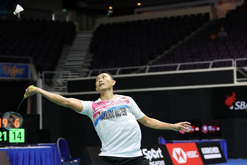 Sony Dwi Kuncoro, the Singapore Open winner in 2010 and 2016, has a tough opener against top seed Chou Tien-chen.