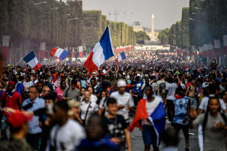 Reports of forced kisses and groping began emerging after France won the final against Croatia on July 15, 2018, as hundreds of thousands of fans poured into the streets of Paris and other cities.