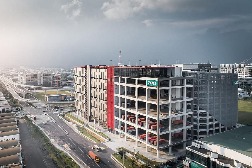 Toll City's more than 100,000 sq m hub boasts innovations that are expected to increase efficiency.