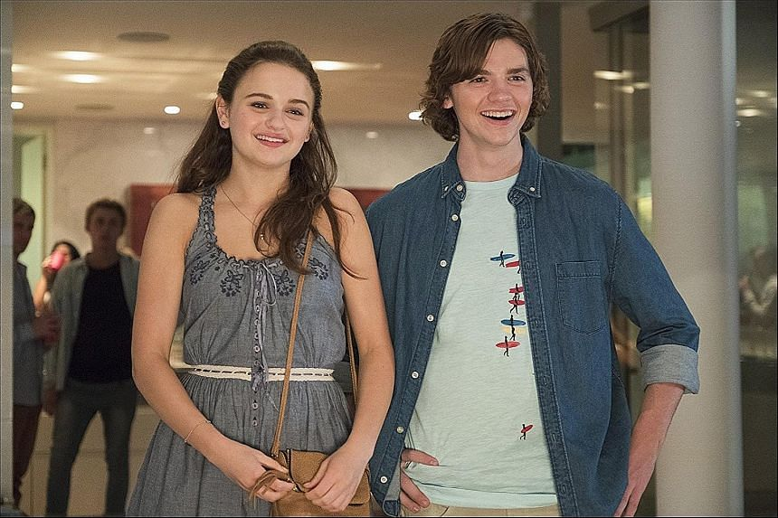 The Kissing Booth stars Joey King and Joel Courtney.