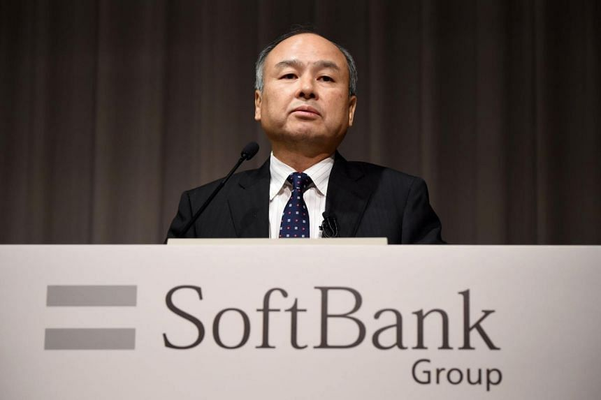 SoftBank Group chief executive Masayoshi Son speaking at a press conference in Tokyo on Nov 7, 2016.