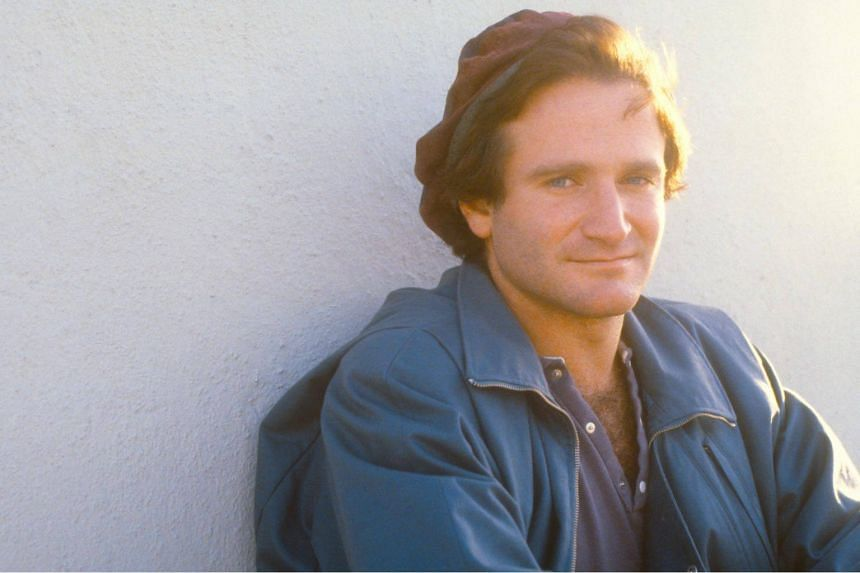 A still from the documentary, Robin Williams: Come Inside My Mind.