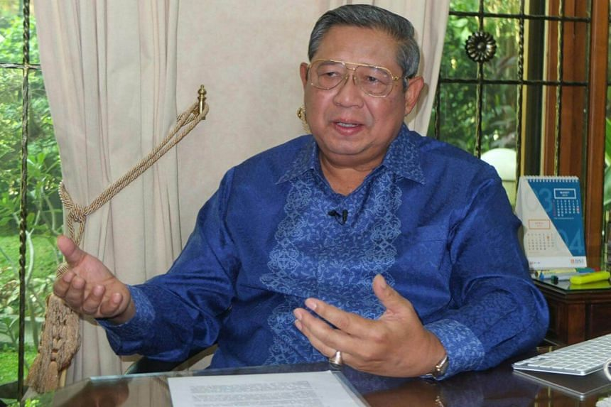 Democratic Party founder Susilo Bambang Yudhoyono was admitted to hospital due to exhaustion on July 17, 2018.
