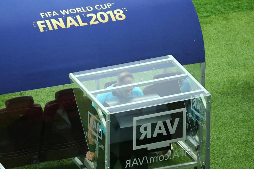 World Cup referees awarded 11 penalties based on VAR playbacks, pushing the total number of penalties to a record high of 29.