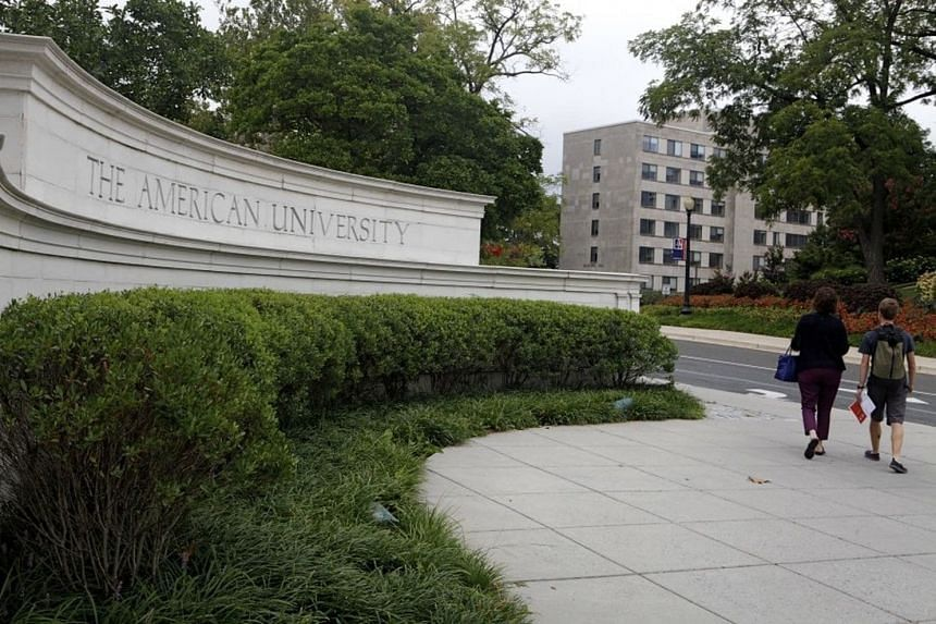 American University's campus was locked down after reports of an armed intruder.