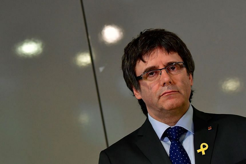 Spain has withdrawn an extradition request for Carles Puigdemont (above).