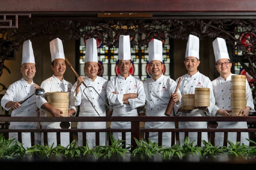 The team of chefs from Jade River.