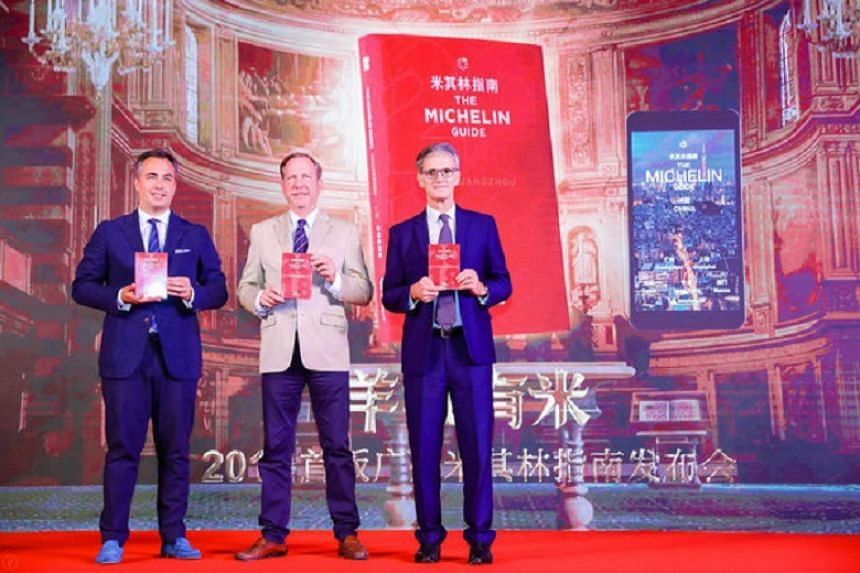 First Michelin guide of Guangzhou was released on June 28.
