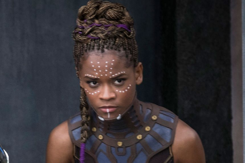 Tech genius Shuri in the film Black Panther was played by Letitia Wright (above).