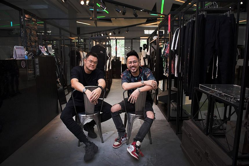 Mr Vincent Quek (left) and Mr Nicholas Cho are the founders of Flesh Imp.
