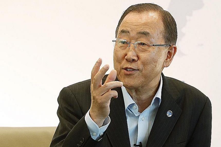 Mr Ban Ki-moon says that since the Singapore Summit, Pyongyang has shown no sincerity in implementing the US-North Korea Agreement, which was focused on complete denuclearisation.