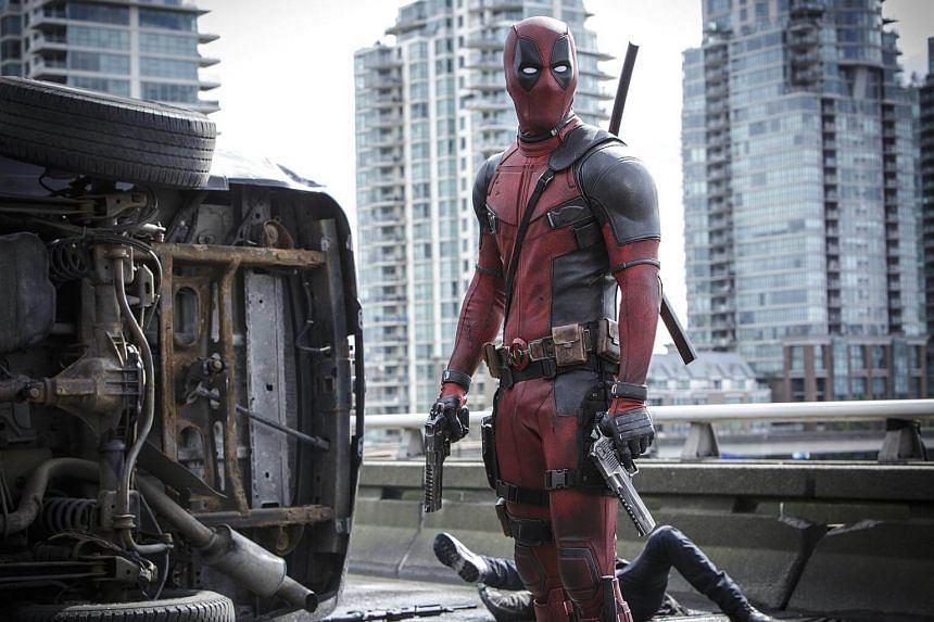 The titular anti-superhero from Deadpool 2, one of the movies that were discussed at the Sounds Of Mayhem: Music And Audio In Action Films, TV, And Video Games panel at Comic-Con.