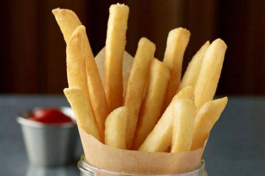 Crispy snacks like french fries are rich in unhealthy trans fats that increase the risk of heart disease, strokes and developing type-2 diabetes.