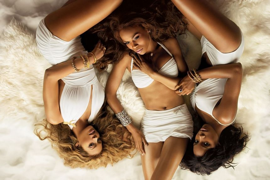 Destiny's Child singer Michelle Williams (centre) has checked herself into a mental health facility to seek help for her struggle with depression.
