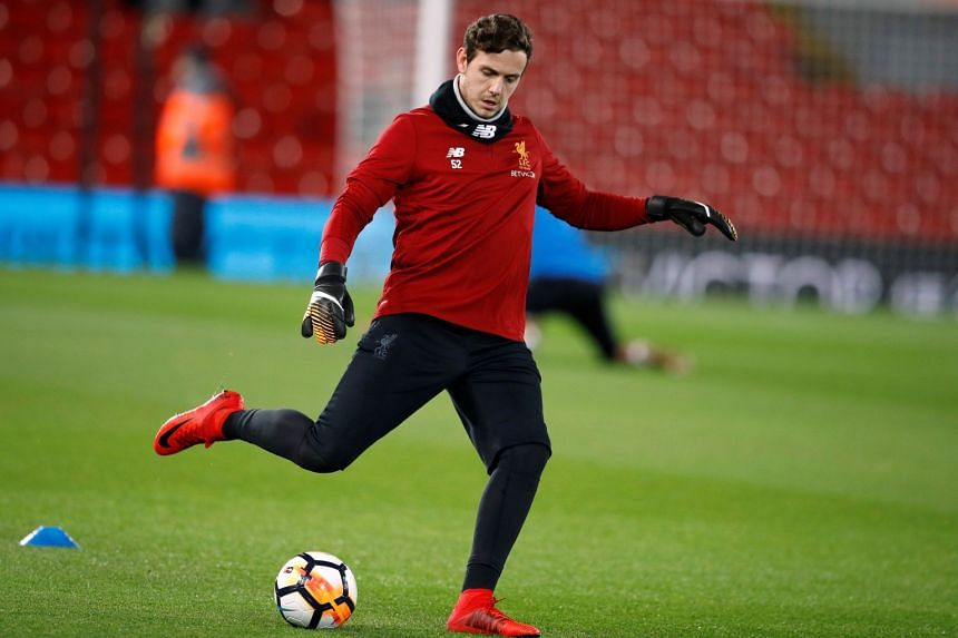 Liverpool's reserve goalkeeper Danny Ward (above) has been sold to Leicester City.