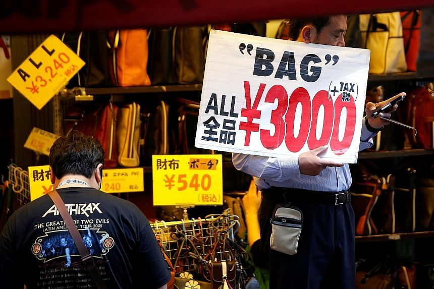 The core-core inflation index, a more closely watched gauge the Bank Of Japan uses to strip away the effect of energy and fresh food costs, was up 0.2 per cent last month - a slowdown from May's 0.3 per cent gain. It undercuts the central bank's view