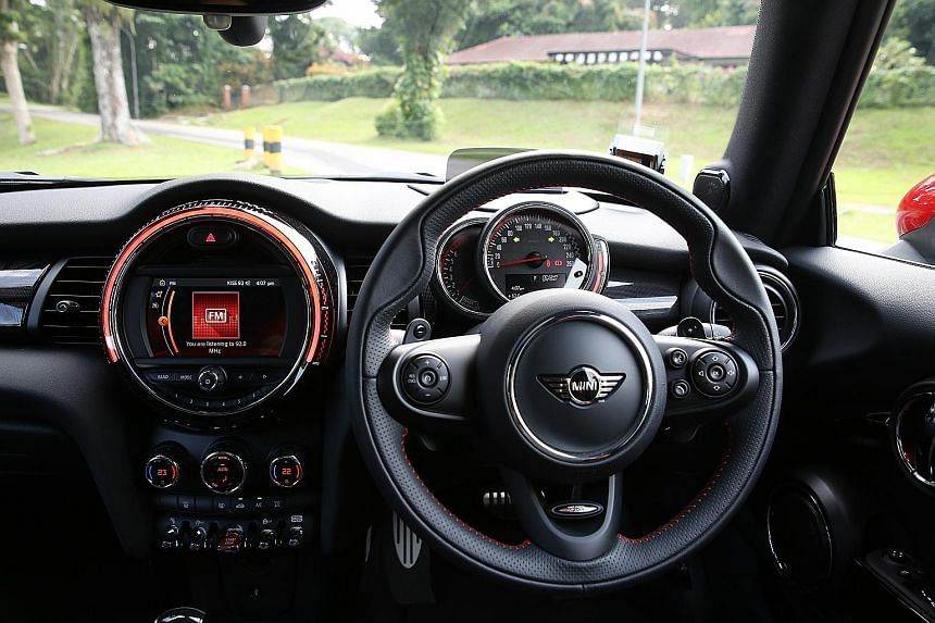 The Mini John Cooper Works 3Dr harks back to the purity of Mini brand.