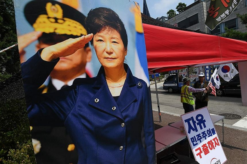 South Korea's former president Park Geun-hye was yesterday found guilty on charges of causing loss of government funds and interfering in a 2016 parliamentary election and given eight more years in prison, on top of her current 24-year term on separa