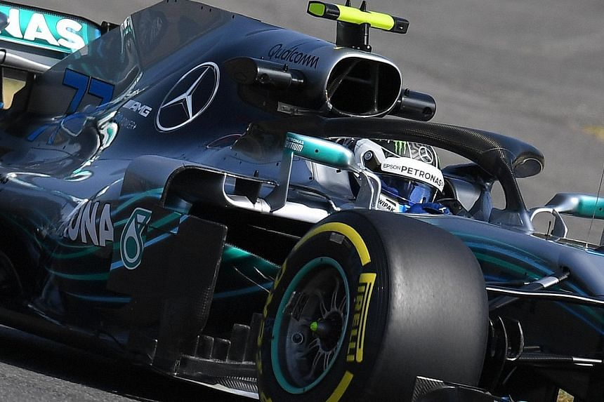 Mercedes' Finnish driver Valtteri Bottas, 28, is optimistic about his future at the Silver Arrows after signing a new deal.