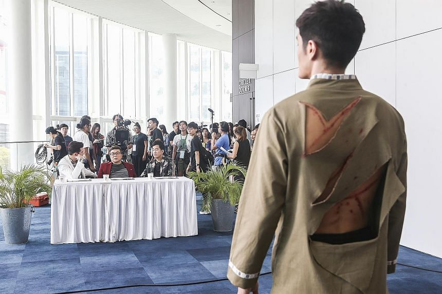 What can be more terrifying than seeing a ghost or a zombie? If you ask singer-actor Nathan Hartono, it is having to shoulder the lead role for the first time in a mainstream movie. Speaking to The Straits Times and other local media, the star of the