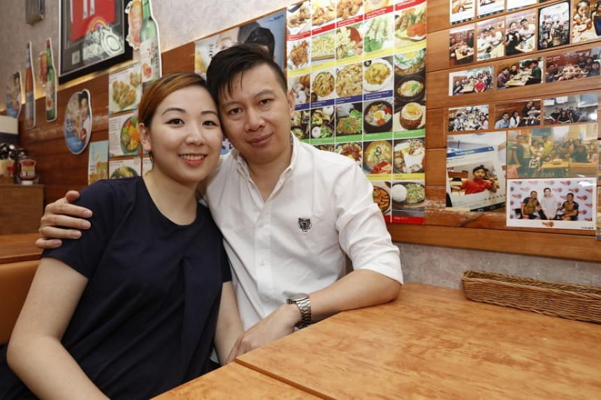 Ms Yao Sueann and Mr Louie Loke are expecting a baby in January next year, conceived through in-vitro fertilisation.